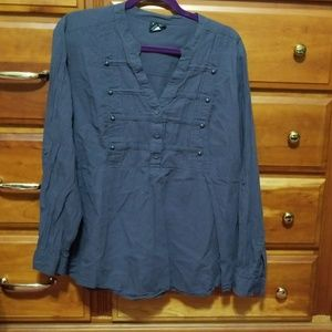 Torrid size 3 military style top